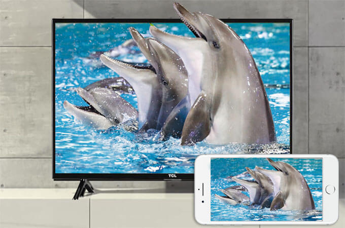 iphone screen to tcl tv