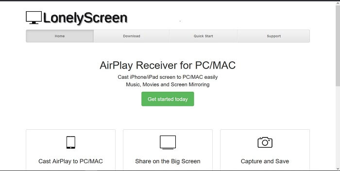 lonely screen airplay receiver for windows
