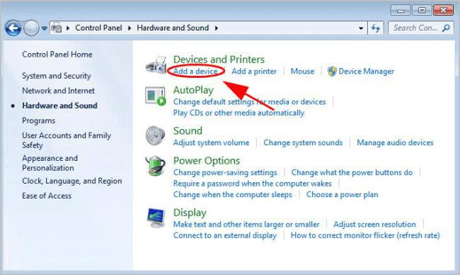 miracast add a device