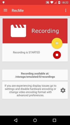 recme recording