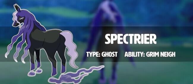 Spectrier Pokemon