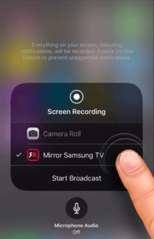 use airbeamtv to share screen to mac