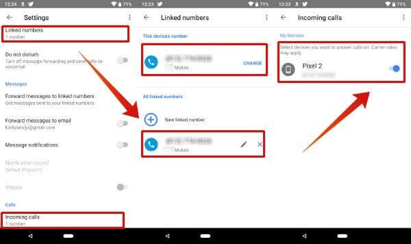 use google voice number to verify whatsapp step 3