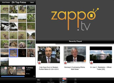 zappo tv