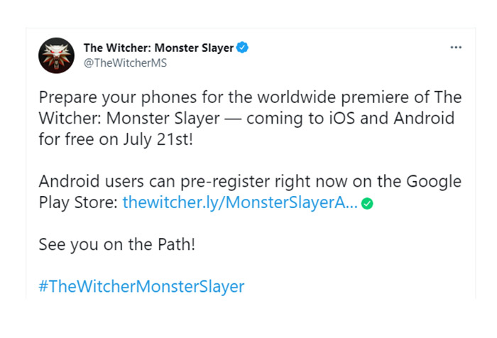 announce the witcher