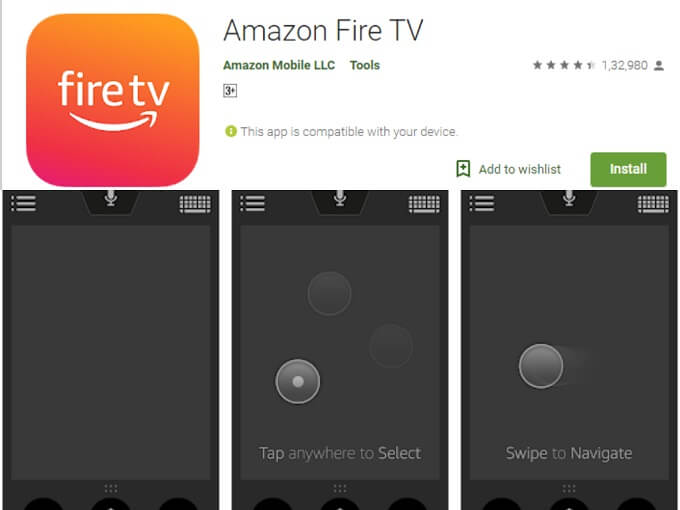download amazon fire tv to control on a smartphone