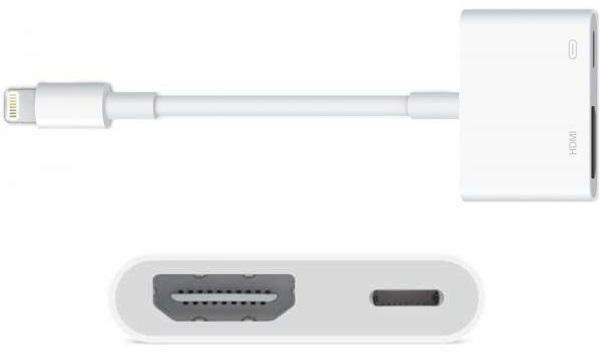 Mirror iPhone to TV with an HDMI cable