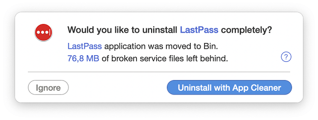 how to uninstall lastpass on mac