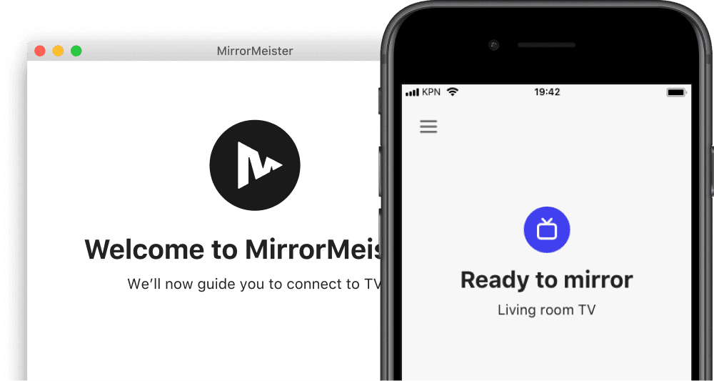 launch the MirrorMeister app