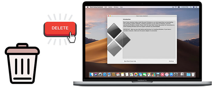 remove bootcamp from mac