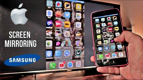 Iphone To Samsung Tv, How To Mirror Iphone Samsung Tv Free Without Apple