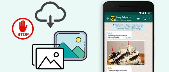 stop whatsapp from saving photos