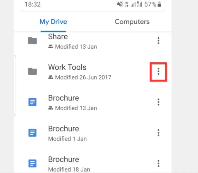 google drive phone