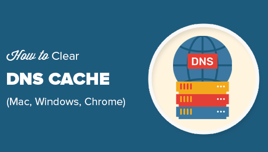 how to clear dns