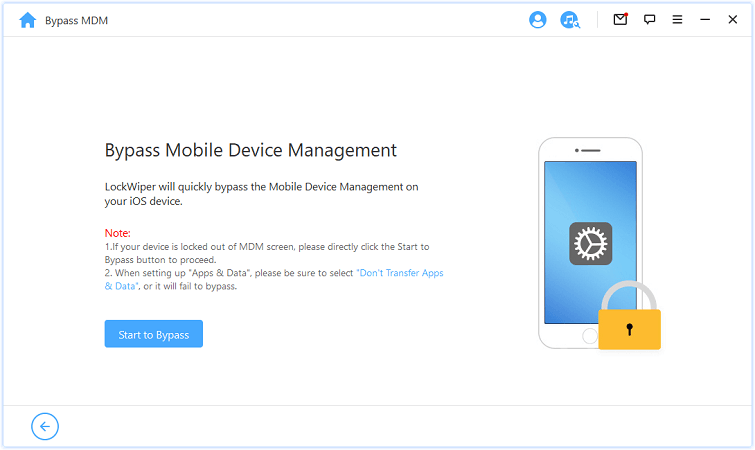bypass mobile device management