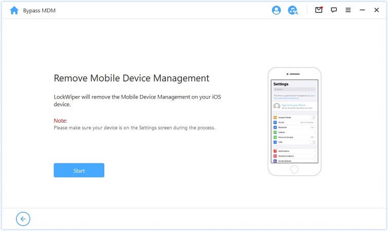 remove mobile device management