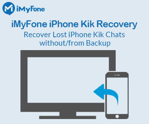 iMyFone iPhone Kik Recovery