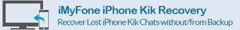 iMyFone iPhone Kik Recovery