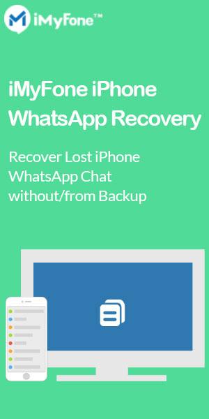 iMyFone iPhone WhatsApp Recovery