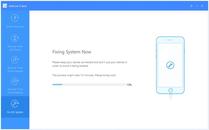 Fix the system of your iPhone/iPad