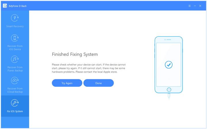 fix ios system
