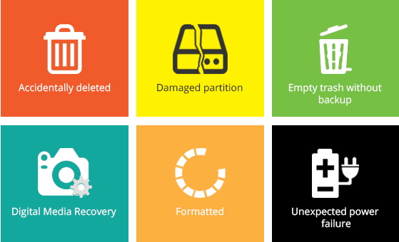 Effectively Recover Lost Files under Various Tough Circumstances