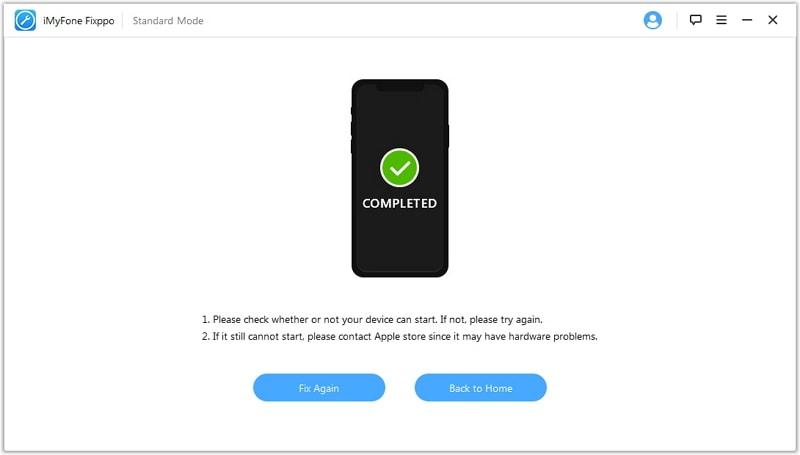 fixing iOS suuccessfully