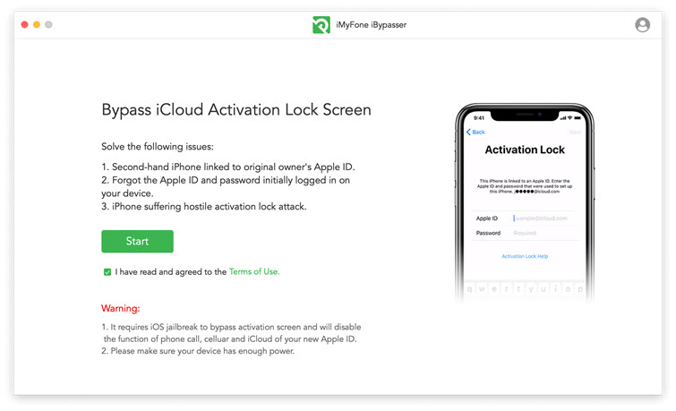 start bypass iPhone activation lock