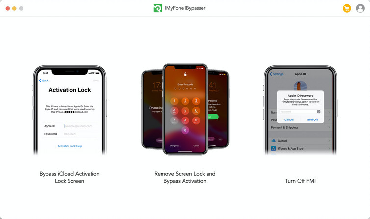 iMyFone iBypasser 3 modes