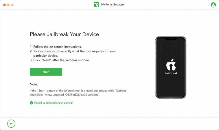Jailbreak device