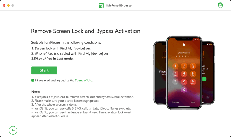 Remove screen lock and bypass activation