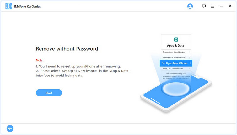 remove without password