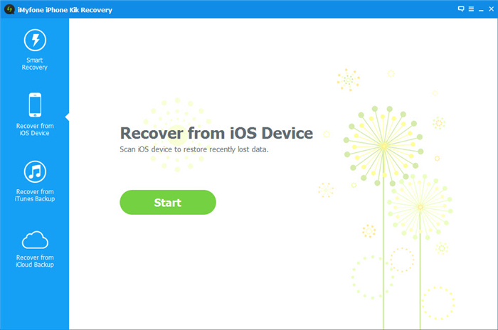 restore kik messages from iOS Device