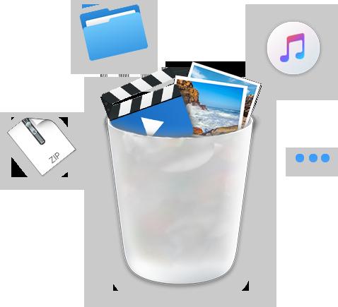 delete large files img