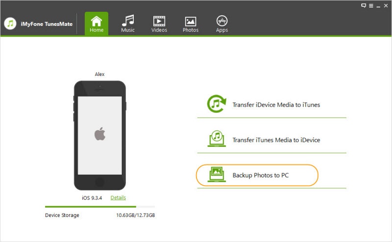 How to backup iphone photos to pc without itunes