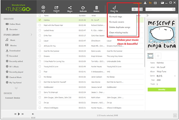 How to Manage iTunes with Tunes Builder