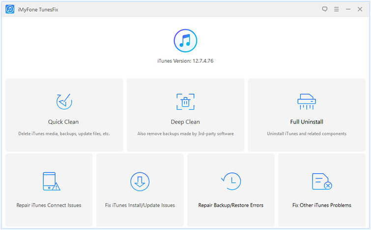 fix all kinds of iTunes Problems