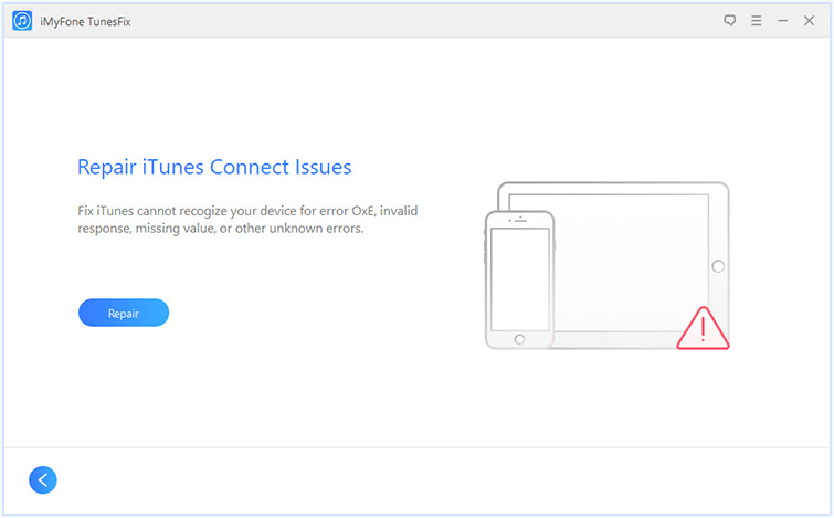 Repair iTunes Connect Issue