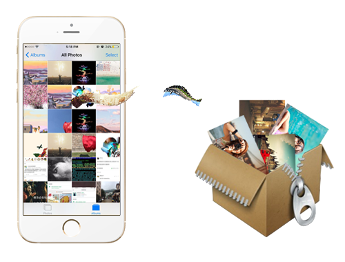 Compress Photos Losslessly to Reclaim 75% Photos' Space