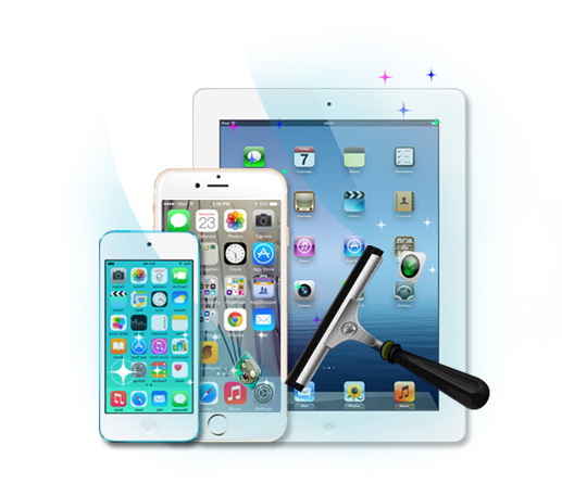 Clear Temporary Files Thoroughly from iOS Devices