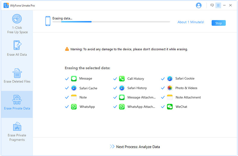 scan tp delete files from iCloud