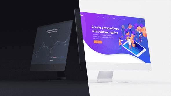 Desktop Website Presentation 2 in 1