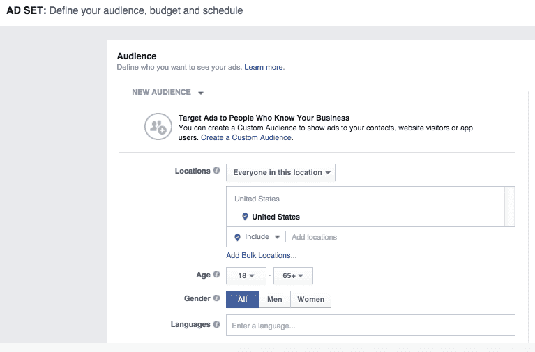 Audience of Facebook Video Ads