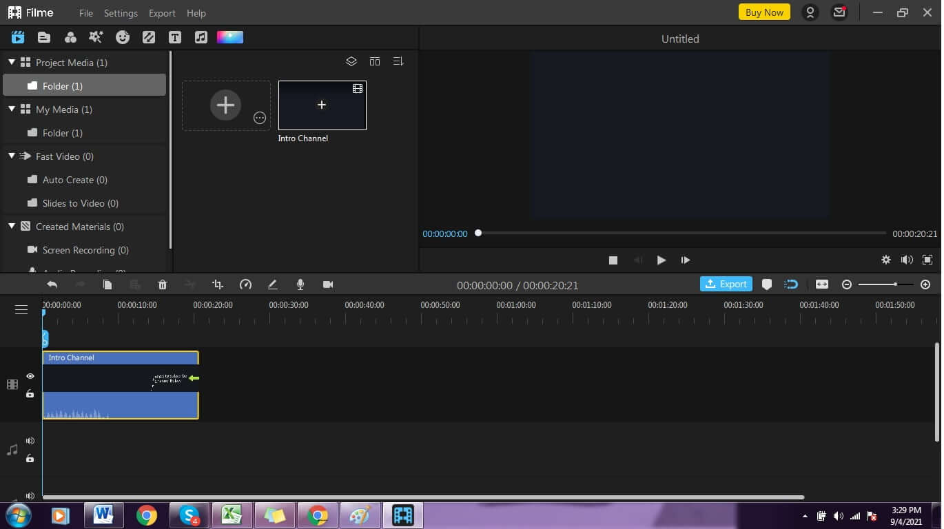 How-to-remove-audio-track-from-video-drag-video-timeline