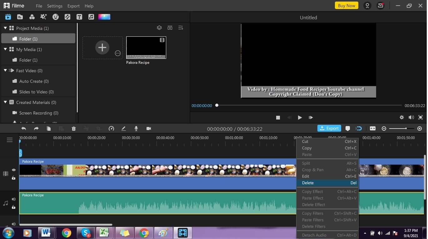 How-to-remove-audio-track-from-video-using-iMyfone-Filme-5