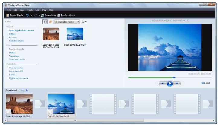 windows movie maker lyric video template