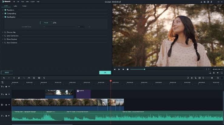 wondershare lyric video template