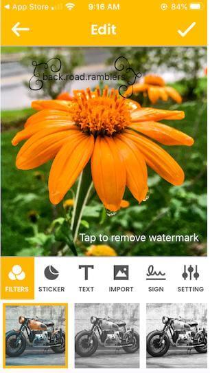 Watermark-photo-Import-option