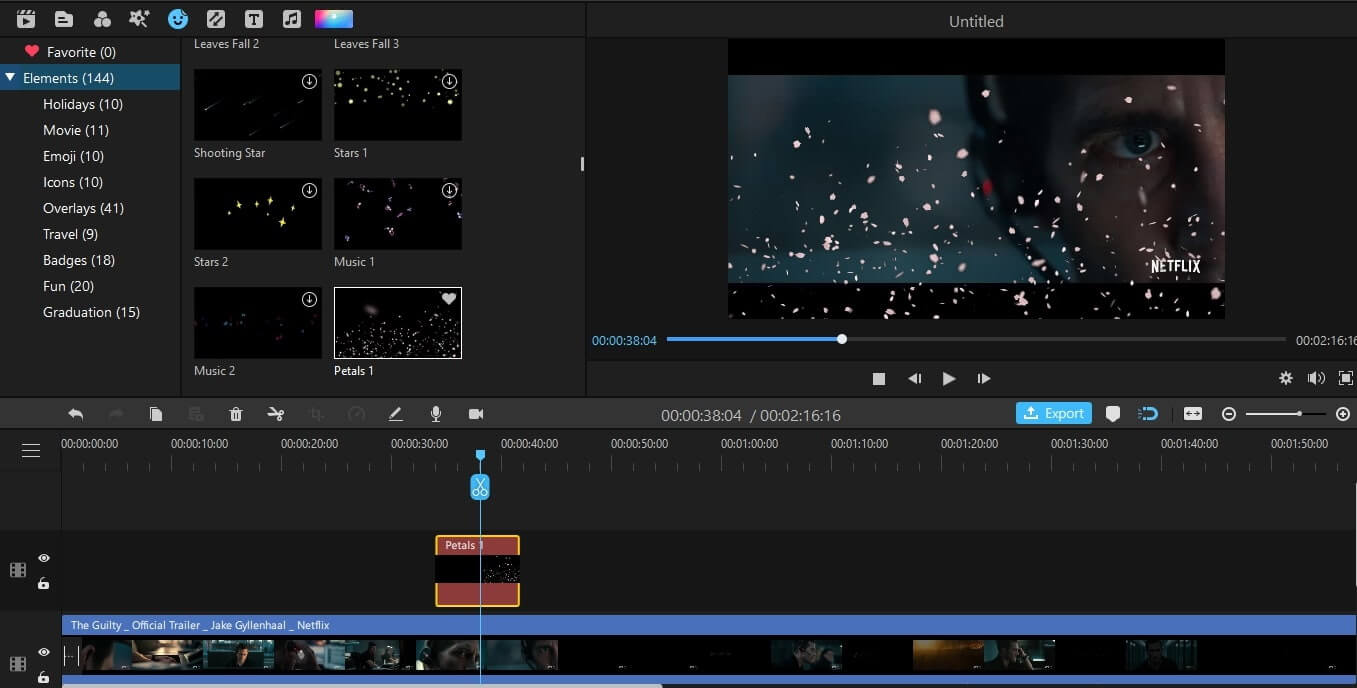 add effects to video