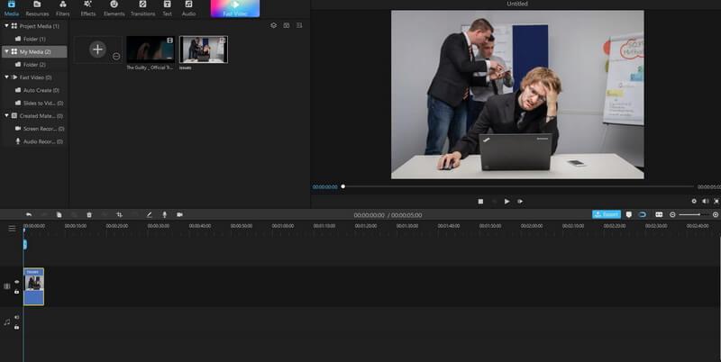 add project filme